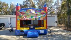 Happy Birthday Modular Bounce House